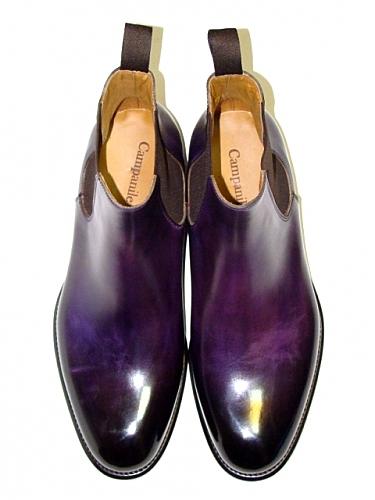 Фиолетовые туфли мужские
