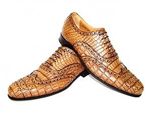 Светло-коричневые ботинки.  Москва, 03 июля 2011 г. Эбано или...